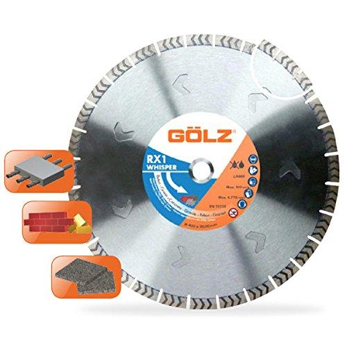 Preisvergleich Produktbild Gölz RX1 Whisper WRX1401Gölz Diamanttrennscheibe Ø 400 mm 25, 4 mm