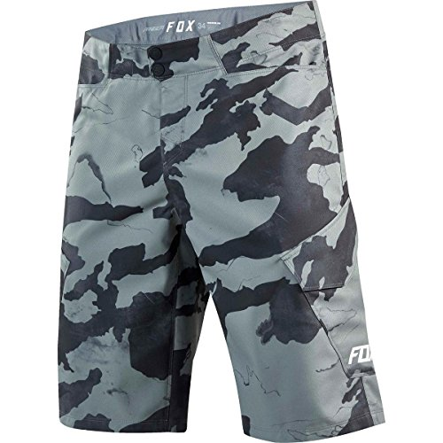 Fox Bike-Short Ranger Cargo Print Camo, Grey, Größe 30