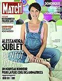 Paris Match n° 3387 du 16 Avril 2014 - Alessandra Sublet (couv'), Marc Levy à New York (3p), Alain Finkielkraut (1p), Miossec (1p), Depardieu et Patrick Deweare (6p), Julien Doré (6p)
