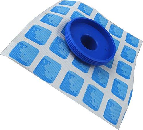 anschlussteile f r pumpe filteranlage an intex pools bis 457 cm 5 teilig mit sieb. Black Bedroom Furniture Sets. Home Design Ideas