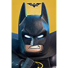 LEGO Batman Close Up Póster, multicolor