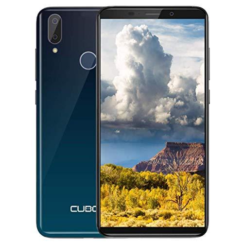 "CUBOT J7 (2019) 3G Günstig Smartphone Für Senioren, Kinder, Geschäft Dual Nano SIM 2800mAh Android 9.0 OTA,Handy Ohne Vertrag 5,7"" HD Display Quad Core 2GB RAM,16GB ROM (128GB interner Speicher) -Grün"