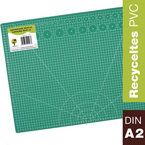 OfficeTree Set estera corte - 60x45 cm A2 verde -