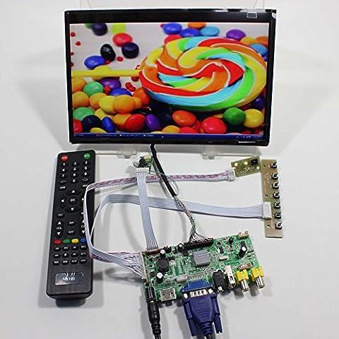 vsdisplay HDMI + VGA + av + USB FPV LCD controller board vs-v59av-v1+ 10.1