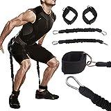 Tofree Fitness Cintura Set Gambe Trainer Forza Allenamento Resistenza coulisse Durable Stretch Cintura Fitness Esercizio