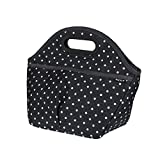 Best PackIt Lunch Boxes - PackIt Freezable Traveler Lunch Bag, Polka Dots Review