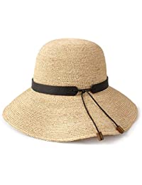 Sombreros Paja Sol de Verano Playa Sol Protección Solar Plegable Tejido  QIQIDEDIAN (Tamaño   Small adabfd6f86c