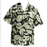 Chemise hawaïenne Hibiscus - 4XL, kaki d'occasion  Livré partout en France