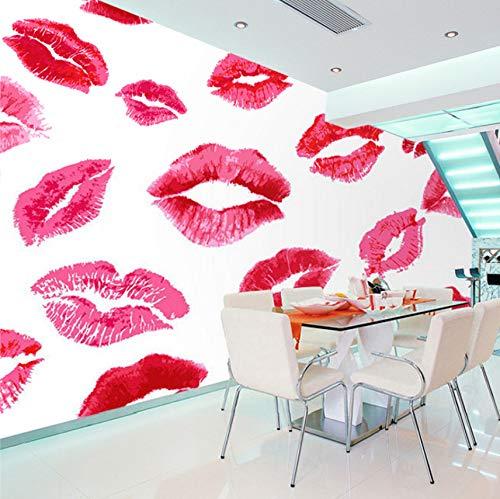 Warm And Romantic Moderne Kunst Wandbild Malerei Ehe Zimmer Schlafzimmer Nacht Hintergrund Wallpaper Flaming Lips-400X280Cm ()