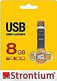 Strontium Ammo 8GB 2.0 USB Pen Drive (Silver)
