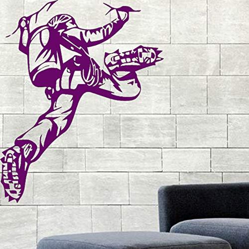 Diseño Escalador Apliques de Vinilo de Pared Escalada Etiqueta de la Pared Paisaje de montaña Interior del hogar Dormitorio Decoración Decoración de Pared Extrema