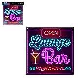 STC Plaque Effet Neon Lounge Bar