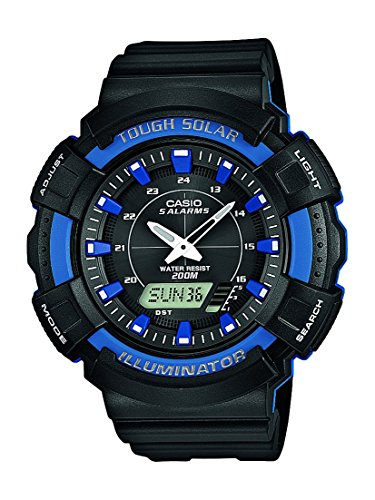 Casio Herren-Armbanduhr XL Collection Analog - Digital Quarz Resin AD-S800WH-2A2VEF Casio Solar 2015