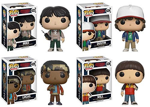 Funko Pop! Stranger Things - Set Mike + Dustin + Lucas + Will