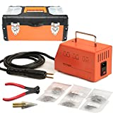 BELEY Car Bumper Repair Plastic Welder Kit, 220V Hot Stapler Plastic Welding Gun Machine with 600PCS Staples
