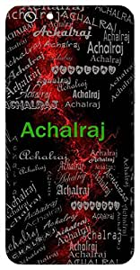 Achalraj (Himalayan Mountain) Name & Sign Printed All over customize & Personalized!! Protective back cover for your Smart Phone : Samsung Galaxy E-7