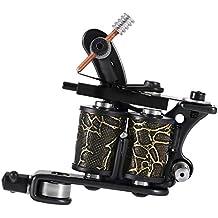 Anself - Profesional Motor de Máquina de Tatuaje Shader & Liner Machine Pistola, 6000 rpm