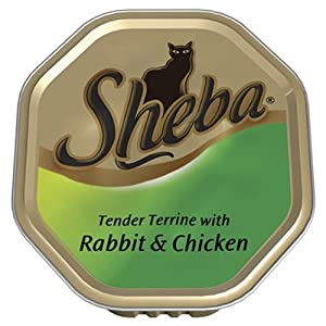 Sheba Tray Tender Terrine with Rabbit and Chicken 100 g (Pack of 16)