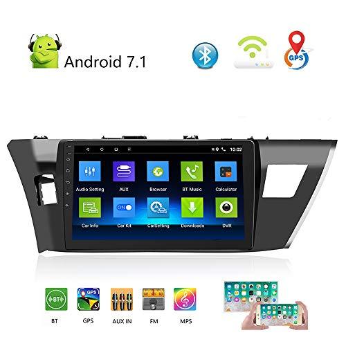 Podofo Autoradio Double DIN Android Autoradio pour Toyota 14 Corolla (GL) 10,1\