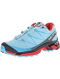 Zapatillas para trail running Salomon Wings Pro azul para mujer 2015