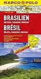 MARCO POLO Kontinentalkarte Brasilien, Bolivien, Paraguay, Uruguay 1:4 Mio. (MARCO POLO Kontinental/Länderkarten) -