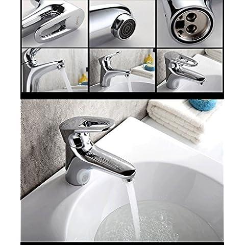 jylw tutti rame foro singolo rubinetto calda e fredda, tutti