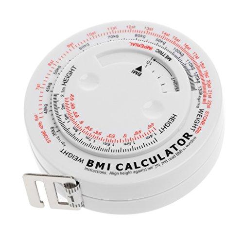 Manyo IMC índice de masa corporal cinta retráctil 150cm calculadora de medición adelgazante pérdida de peso herramientas
