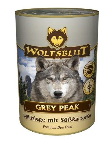 Wolfsblut Dose Grey Peak 12x 395g Hundefutter mit Ziege