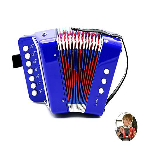 Joyibay Musikinstrument Pädagogisches Akkordeon Musik Spielzeug Instrument Spielzeug für Kleinkinder