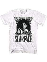 2Bhip Película de crimen mafioso cartel de tony montana scarface camiseta de 1980 para hombre