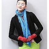 WZH trajes sim manga larga lana corta-estilo de la mujer . black . s