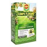 COMPO FLORANID Rasen Langzeit-Dünger, 4 Monate Langzeitwirkung, Feingranulat, 3 kg, 120 m²