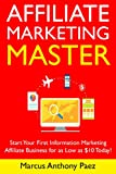 Affiliate Marketing Master (Newbie Training): Start Your First Information Marketing Affiliate Business for as Low as $10 Today! (English Edition)