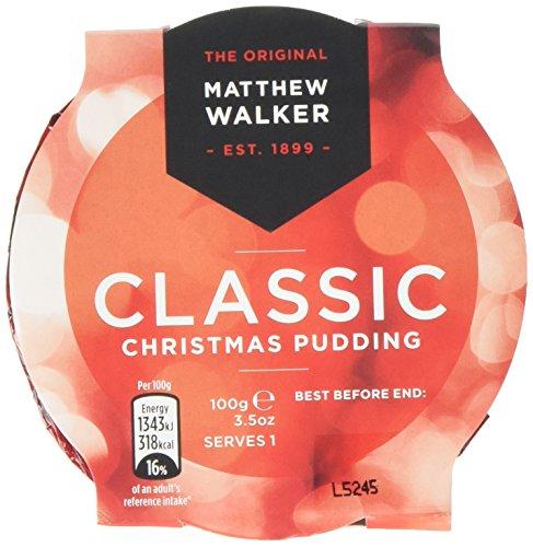 Matthew Walker Classic Christmas Pudding 100g, 12 puddings Test