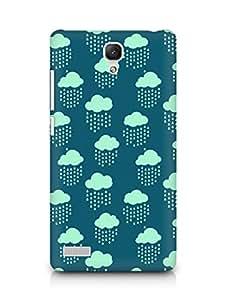 Amez designer printed 3d premium high quality back case cover for Xiaomi Redmi Note 4G (Cloud Pattern2)