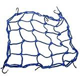 tankerstreet schwere dehnbar Cargo Net, Gepäck Net Organizer für Motorräder Sportives Bike, geländefahrzeugen, Cargo Bay Cars (blau)