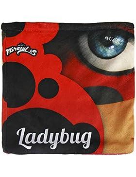 Cerdá Ladybug, Bufanda para Niñas, Multicolor (Rojo), 3 Años (Tamaño del Fabricante:m)