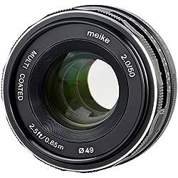 Meike Objectif 35 mm F1.7 pour Fujifim X-Mount, multicoated - P