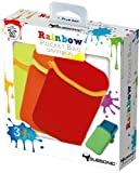 Cheapest Subsonic Rainbow Pocket 3 Case Pack  Yellow Orange Red on Nintendo 3DS