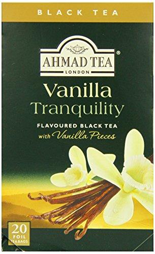 Ahmad tea vanilla tranquillity - tè nero alla vaniglia 20 ff