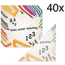 START SCHOOL Schulanfang Lunch Serviette SERVIETTEN 33 x 33 cm 20 Stück