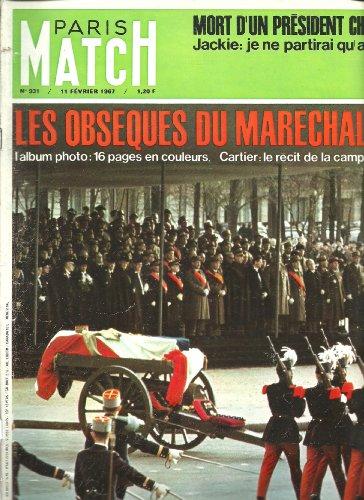 Paris Match 931 1967 Obsques du marchal Juin (22 pages)