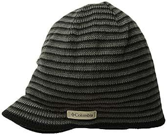 Columbia Northern Peak Bonnet visière Black/Charcoal