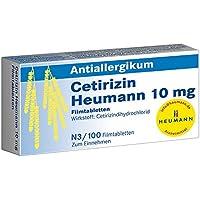 Preisvergleich für Cetirizin Heumann 10 mg, 100 St. Filmtabletten
