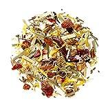 Früchte Krauter Teemischung Bio - 100% Natürliche Wärmender Kräutertee mit dem vollen Geschmack Roter Früchte - Früchtetee 200g