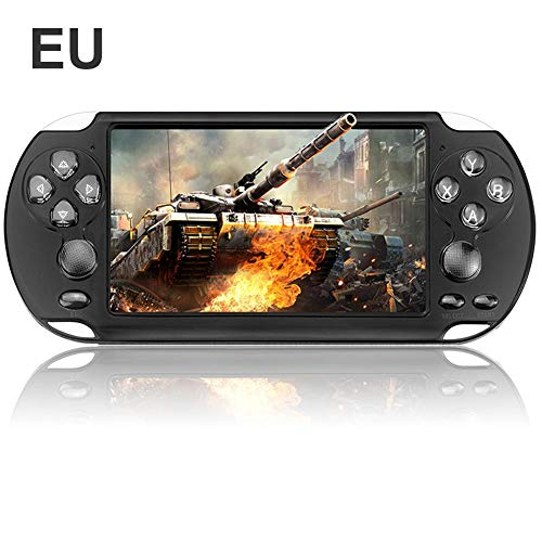 wovemster for X9-S Charging 5.1 Inch 8G Handheld Retro Game Console, New Dual Rocker Handheld Game Console Color Screen Game Console Entertainment Supplies Children's Educational Toys Black-box-vcr