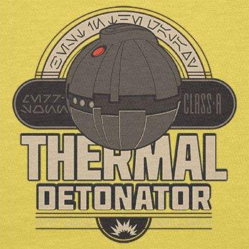 NERDO - Thermal Detonator - Herren T-Shirt Gelb
