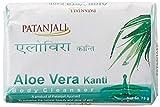 Patanjali Kanti Aloe Vera Jabón Limpiador Corporal, 75 g (paquete de 6) por AyurvedaWorld