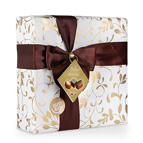 Marque Amazon - Happy Belly Sélection de bonbons de chocolat belges 500g