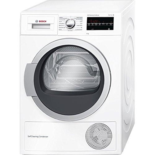 Bosch série | 6wtg85238ee indépendant chargement frontal 8kg Blanc–Sèche Linge (autonome, chargement frontal, Pompe à chaleur, a + +, blanc, b)